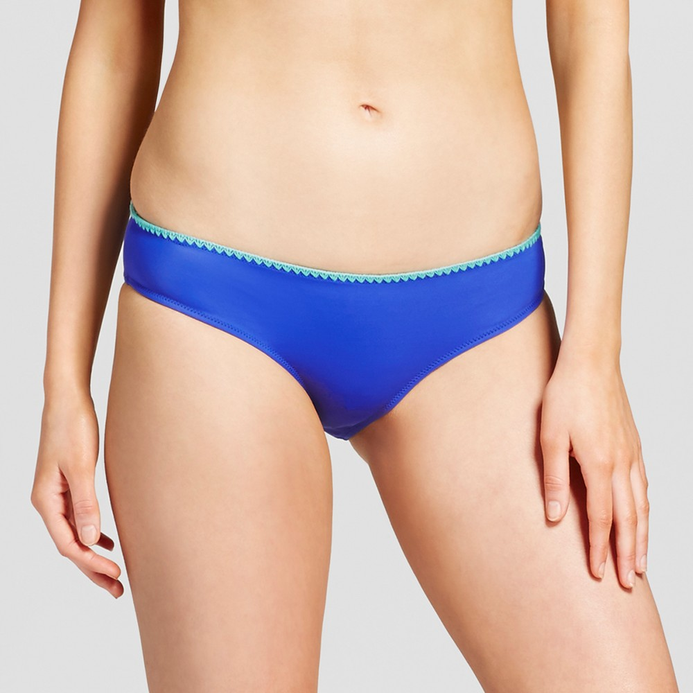 Womens Beach Hipster Bikini Bottom - Shade & Shore Sailor Blue XS