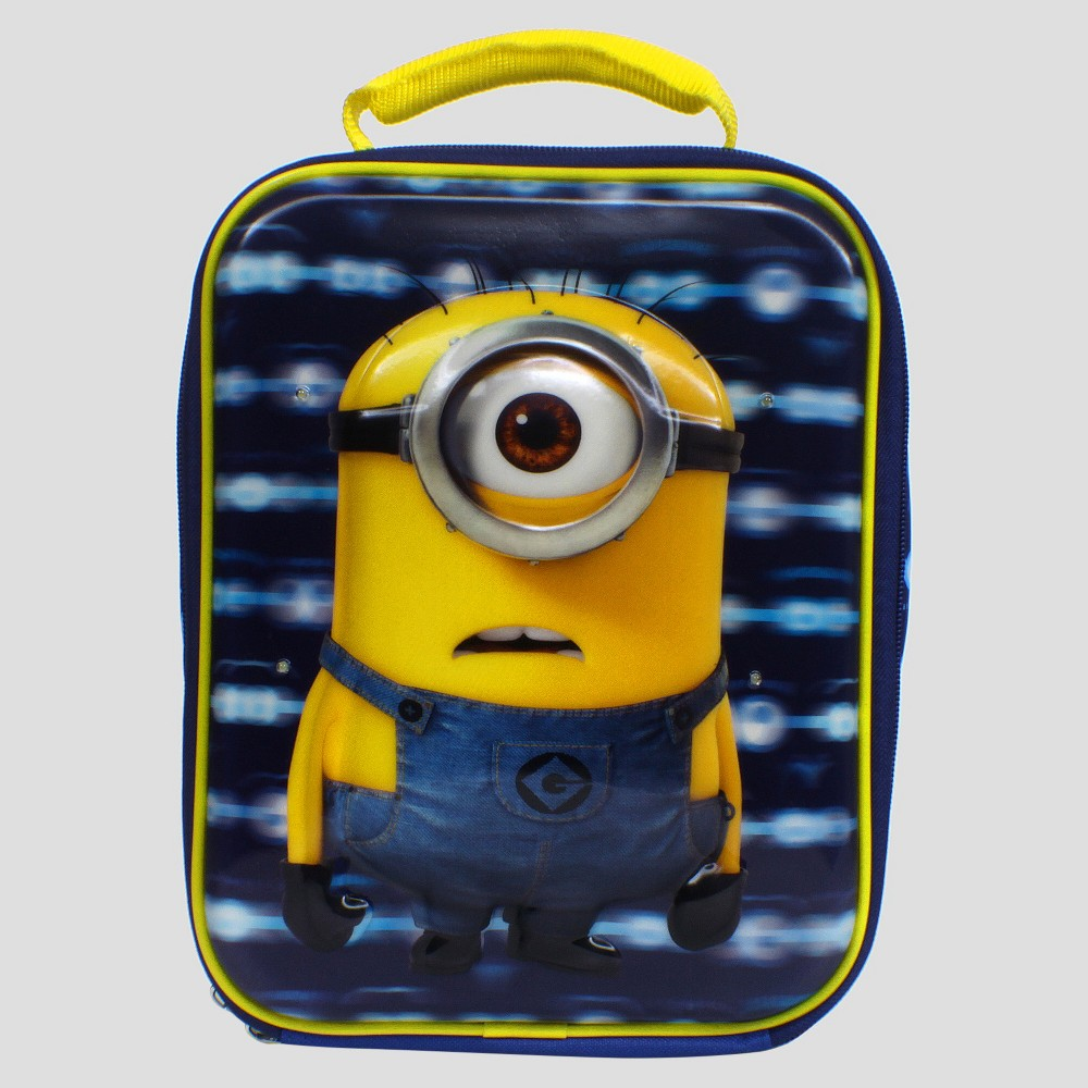 Despicable Me Minions Lunch Box, Blue/Yellow