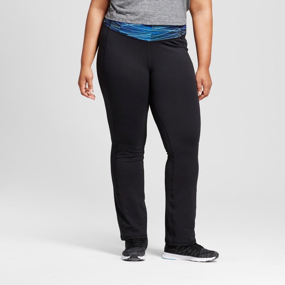 Womens Plus-Size Freedom Straight Pants - C9 Champion - Black 1X
