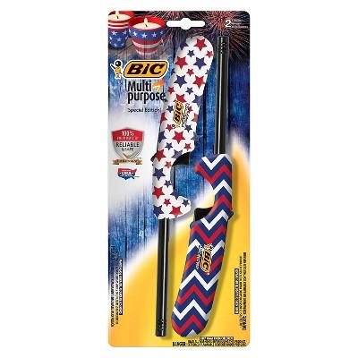 BIC 2pk Multi-Purpose Lighter Americana - Standard