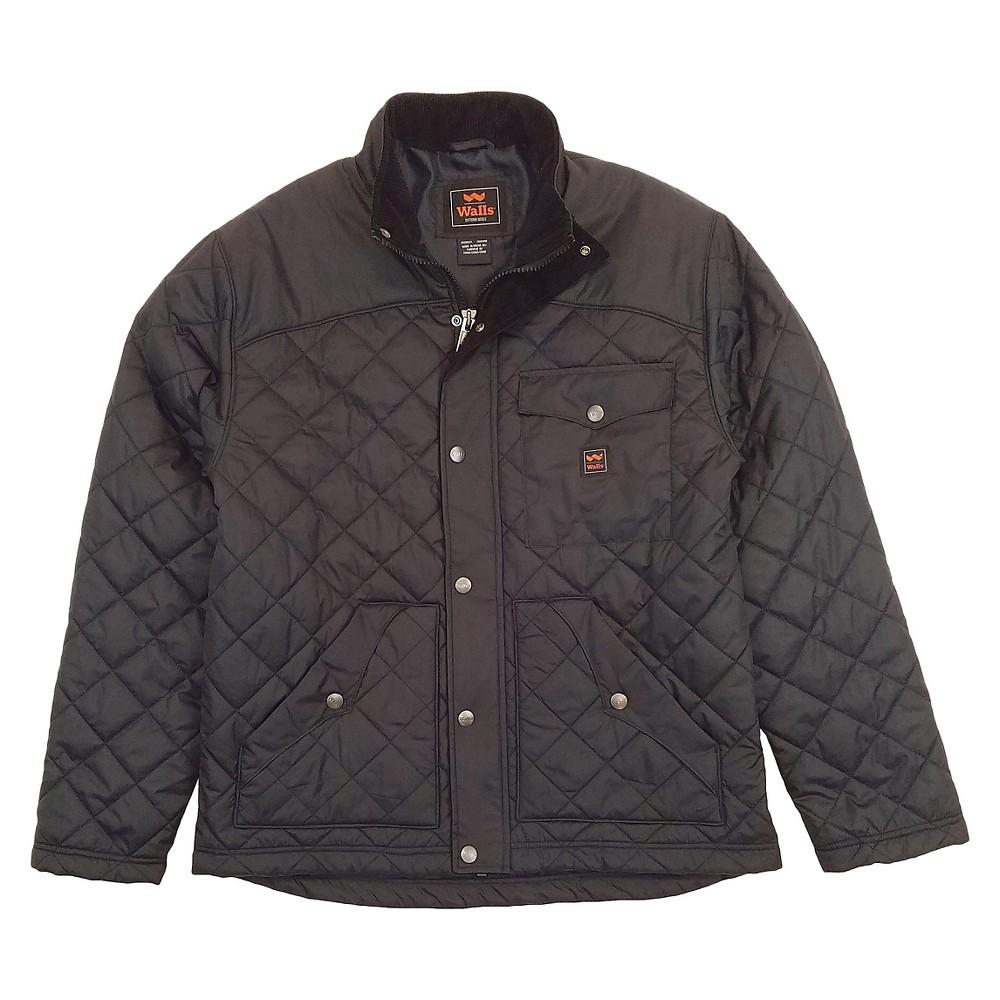Walls Ranch Brownwood Nylon Jacket Black M, Mens, Size: XL