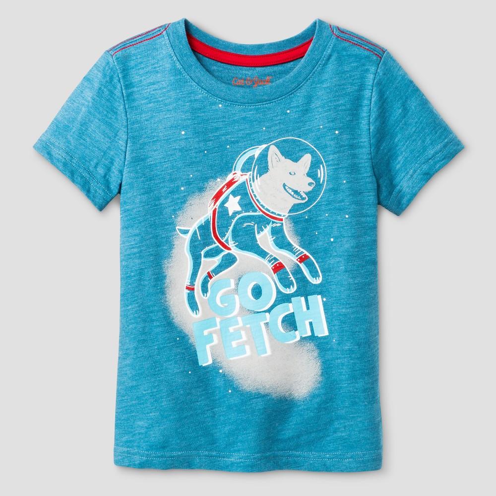 Toddler Boys T-Shirt Cat & Jack Splendid Turquoise 4T, Blue
