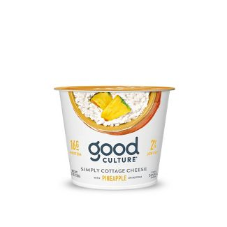 Good Culture Pineapple Bottom Cottage Cheese
