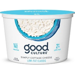 Good Culture 2% Milkfat Cottage Cheese Classic - 16oz