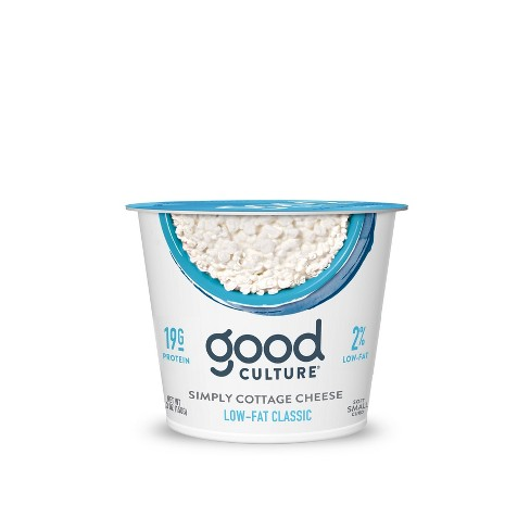 Good Culture 2% Milkfat Cottage Classic Cheese - 5.3oz - image 1 of 1
