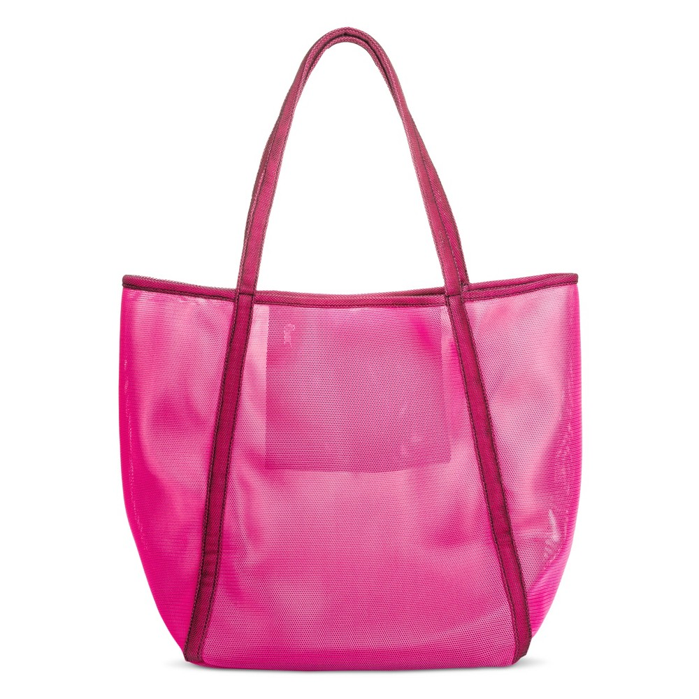 Women's Oversized Mesh Tote Handbag - Mossimo Supply Co. Pink