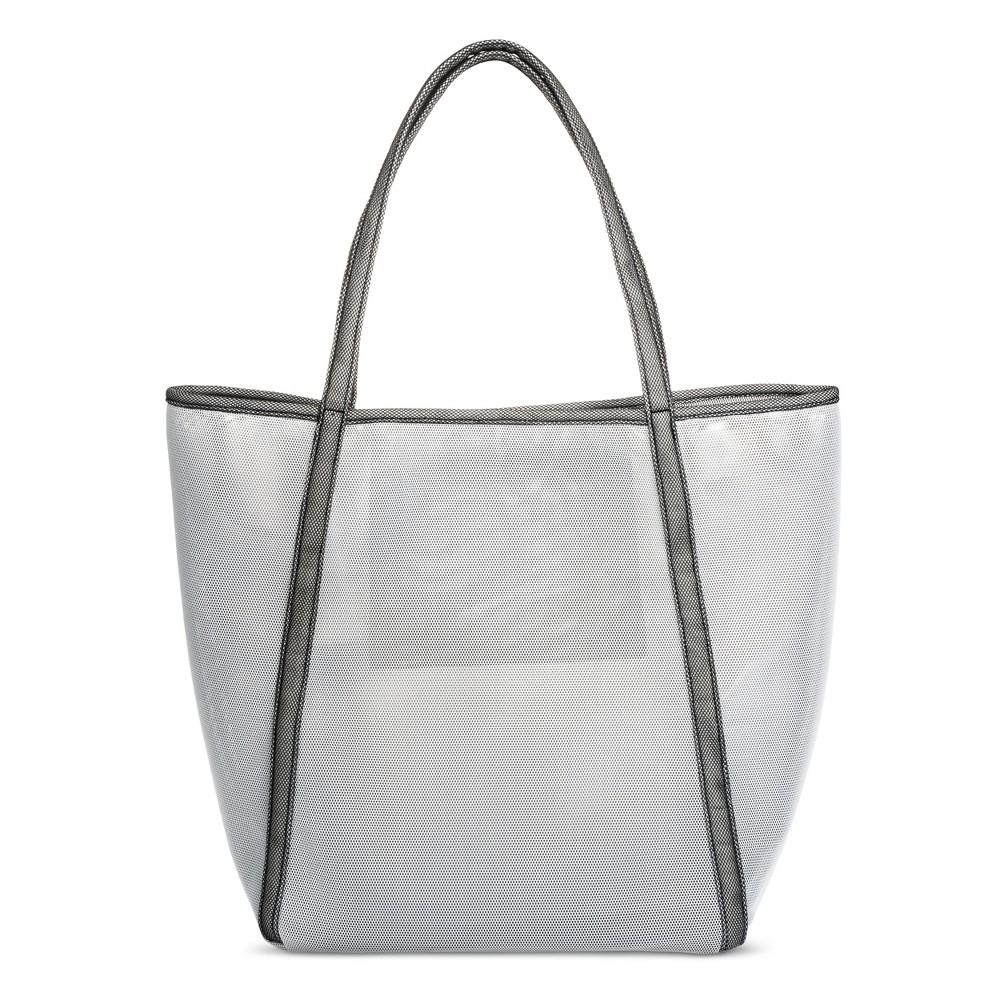 Womens Oversized Mesh Tote Handbag - Mossimo Supply Co. Gray