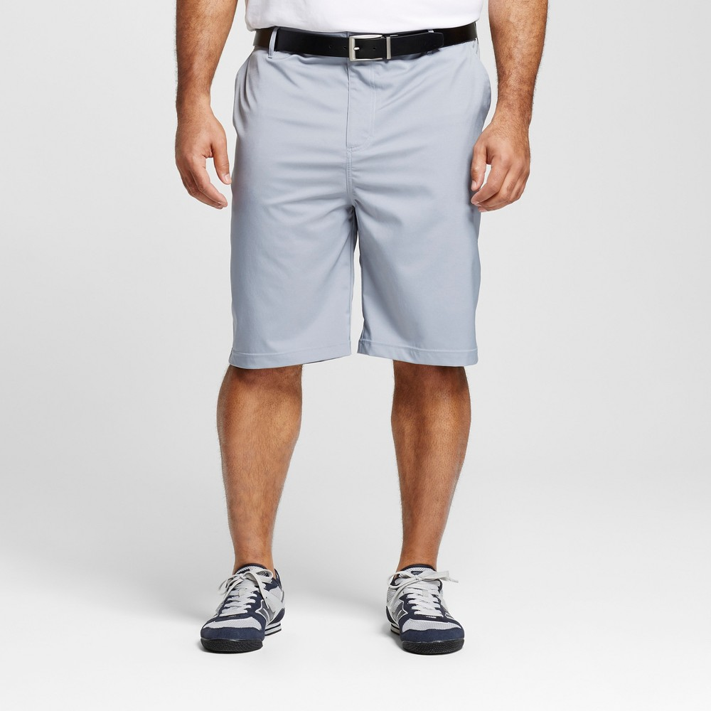 Mens Big & Tall Golf Shorts - C9 Champion - Concrete 44