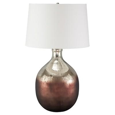 Tabish Table Lamp Mercury Glass/Brown   Signature Design By Ashley