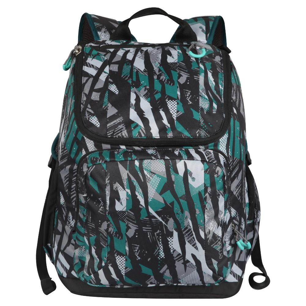 17 Jartop Backpack - Flyaway Black/Green/Gra - Embark