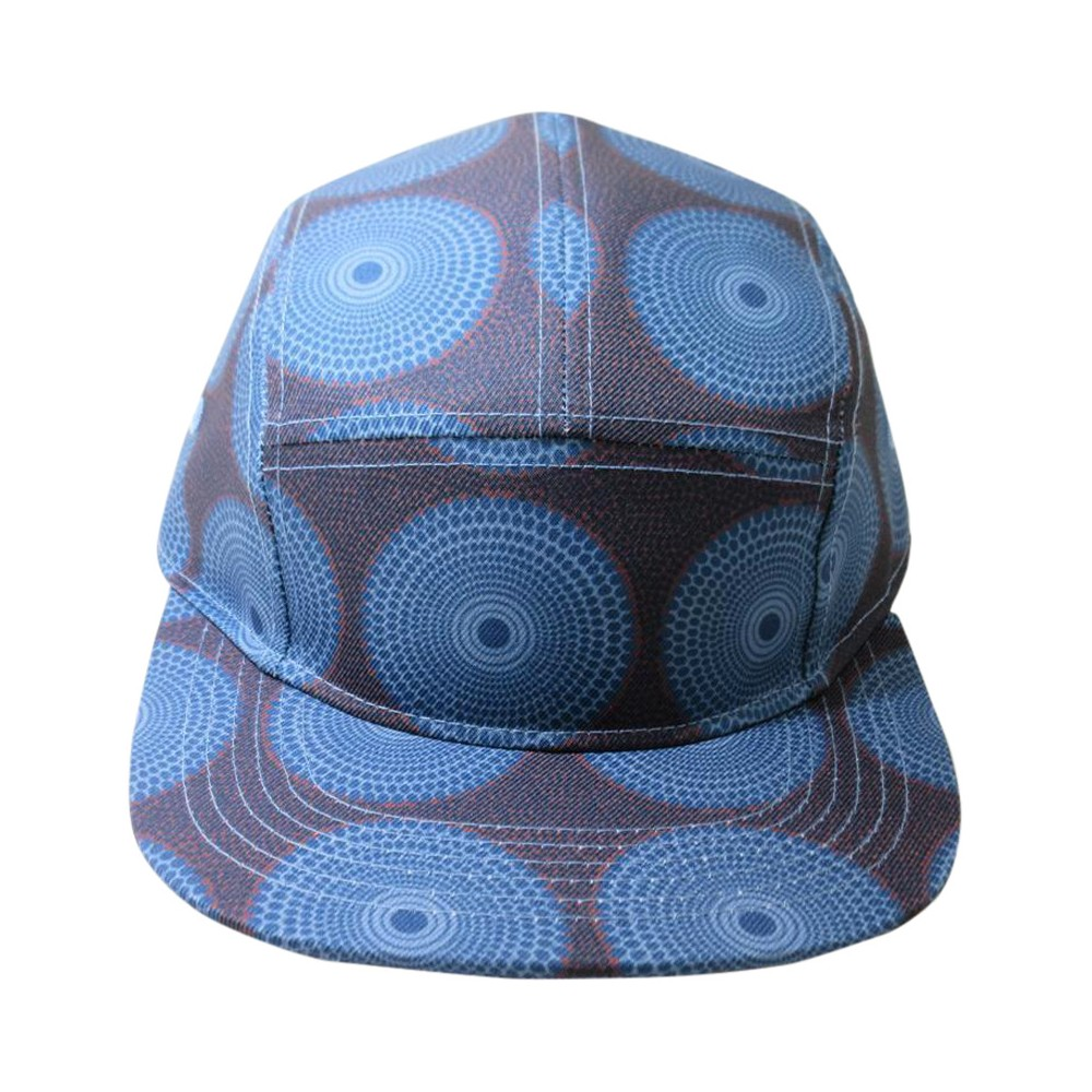 Mens Printed Five Panel Havanna Hat - Mossimo Supply Co. Purple One Size