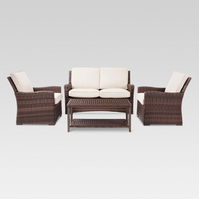 All weather wicker patio furniture target for Outdoor furniture target
