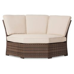 Halsted Wicker Patio Corner Sectional Seat Threshold 153