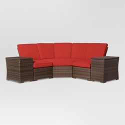 Halsted 5-Piece Wicker Patio Sectional - Threshold™