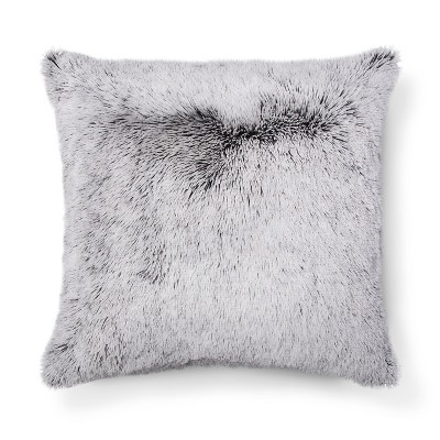 Gray Plush Oversized Throw Pillow - Room Essentials™