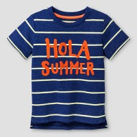 Toddler Boys' Hola Graphic T-Shirt Cat & Jack - Blue. opens in a new tab.