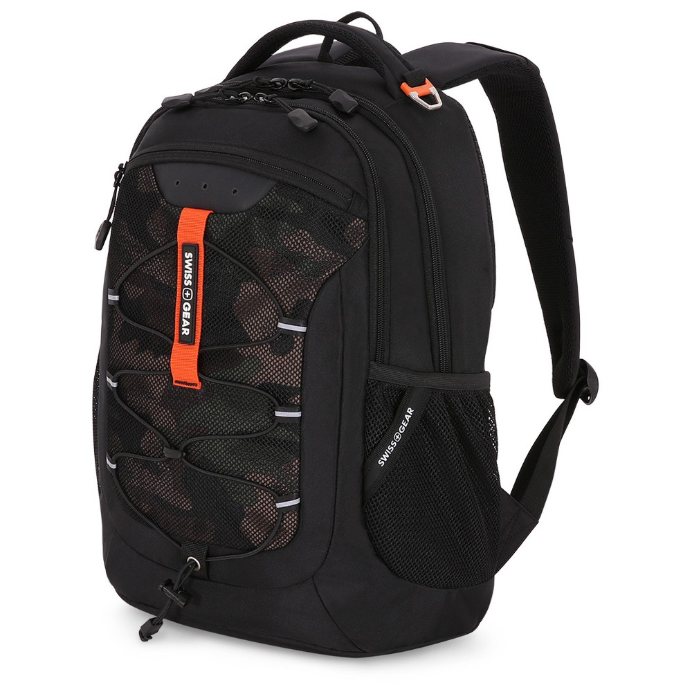 SwissGear 18.5 Laptop Backpack - Black/Camo