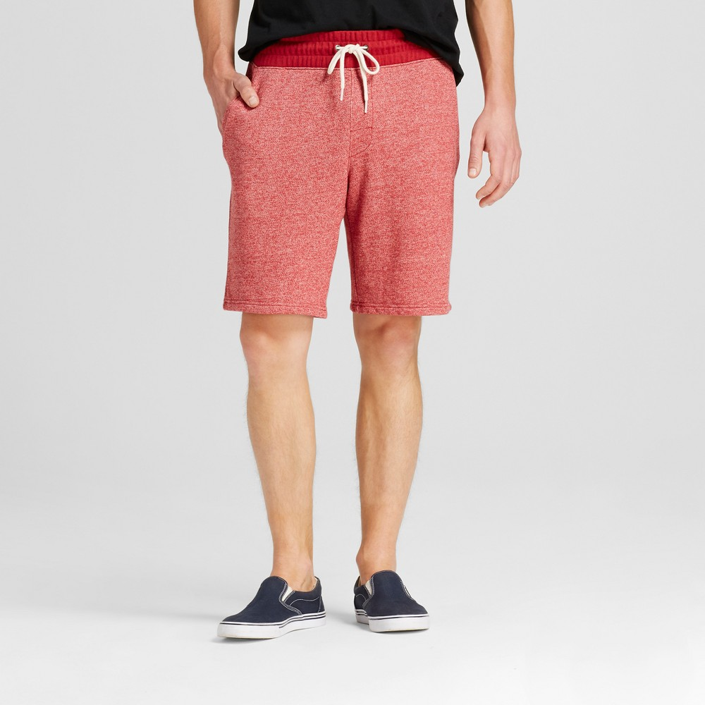 Mens Athleisure Knit Lounge Shorts - Mossimo Supply Co. Red L