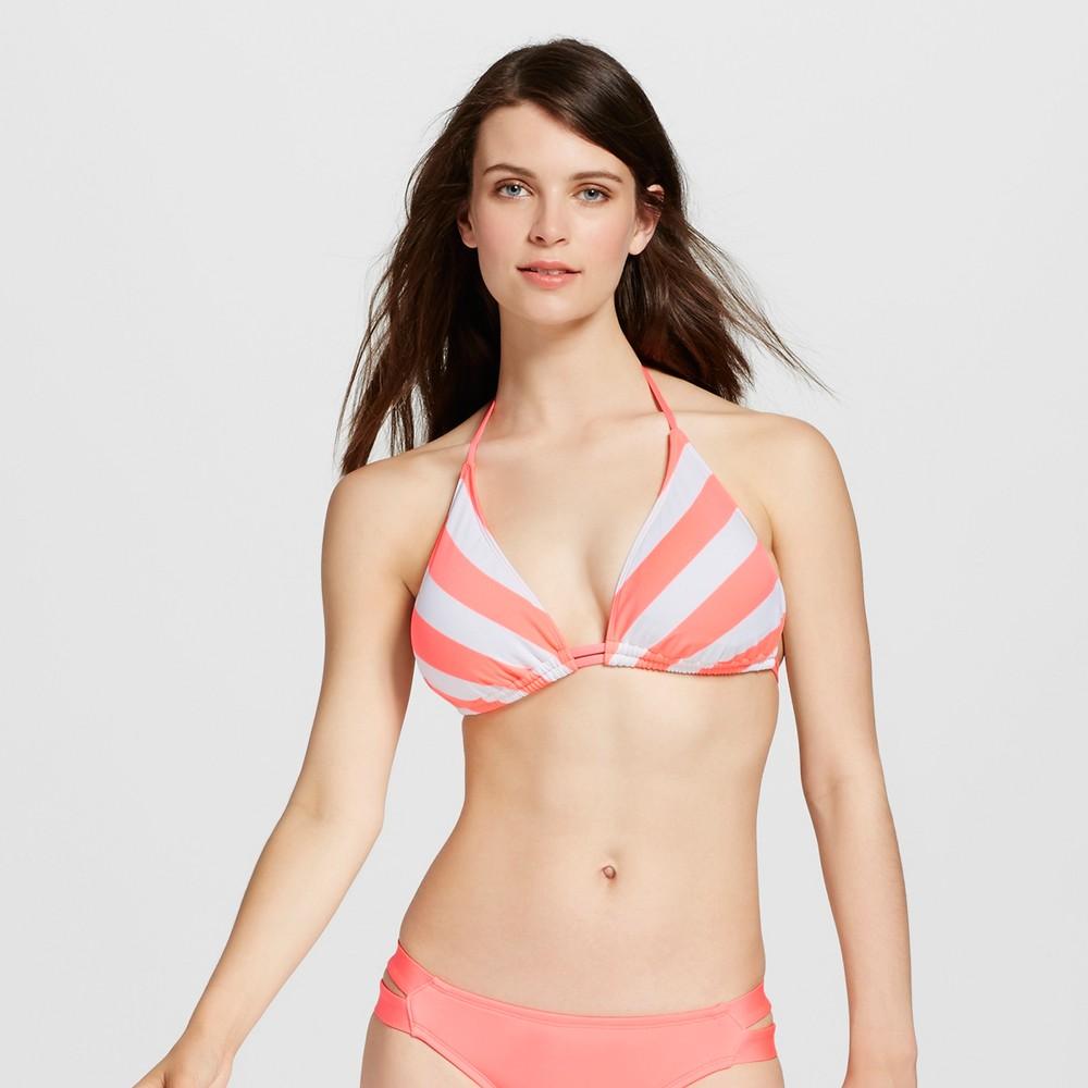 Women's Triangle Bikini Top - Hot Melon - D/DD Cup - Mossimo