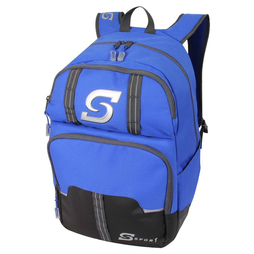 S-Sport Boys Backpack - Blue, Black