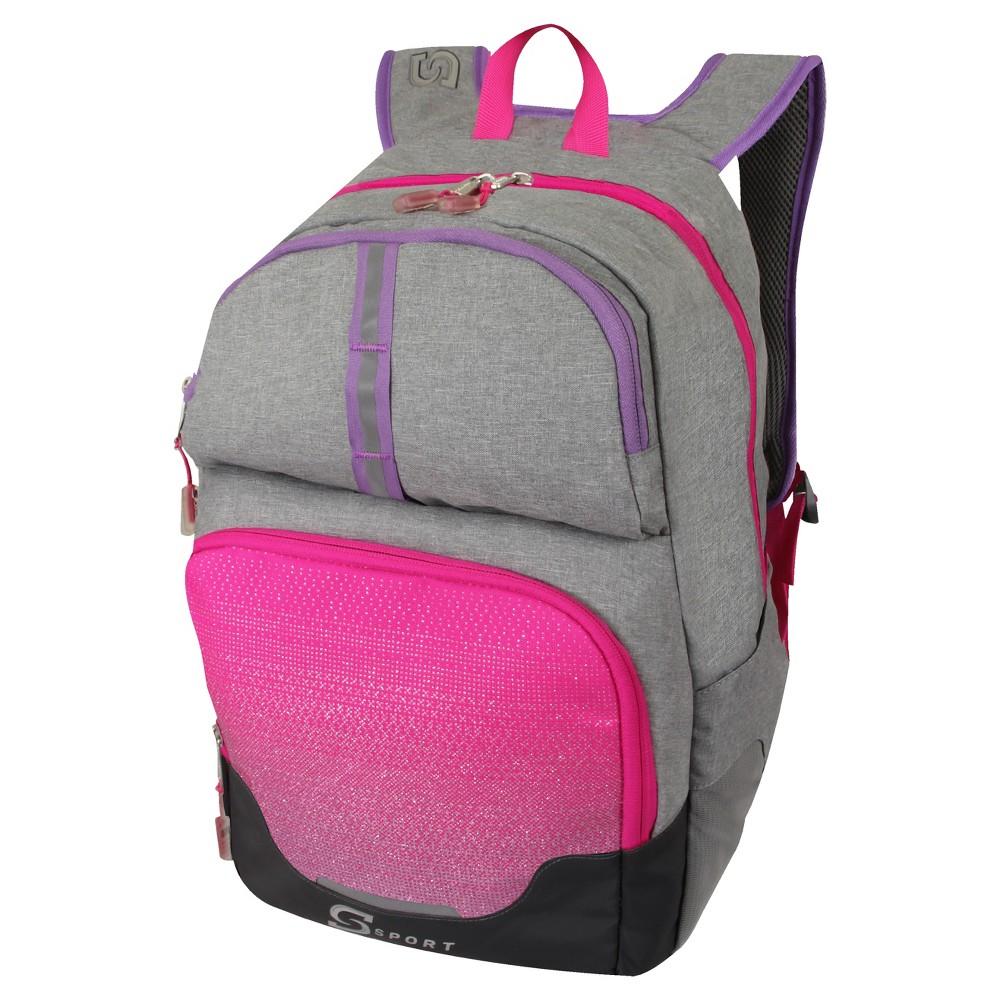 S-Sport Girls Backpack - Gray, Blue