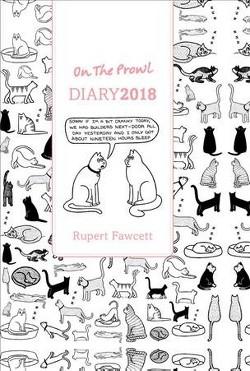 On the Prowl Diary 2018 (Paperback) (Rupert Fawcett)