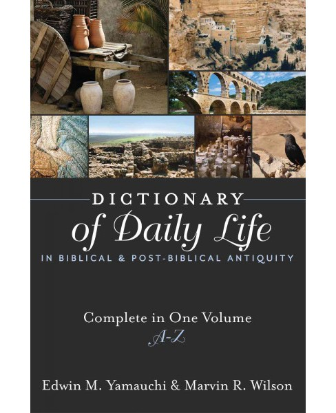 Dictionary of Daily Life in Biblical and Post-biblical Antiquity -  Combined (Hardcover) - image 1 of 1