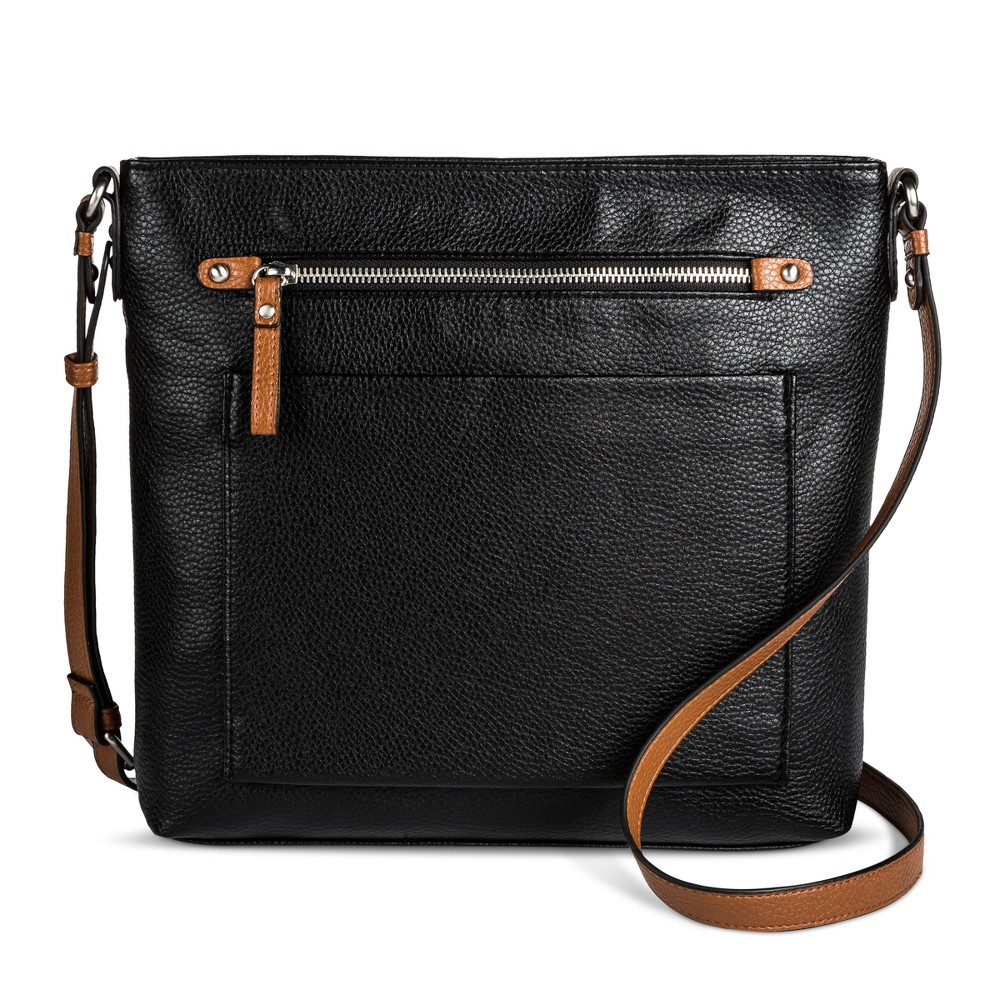 Womens Crossbody Handbag - Merona Black