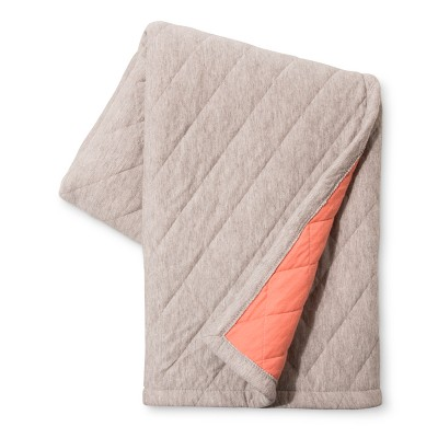 Coral Jersey Oversized Throw Blanket - Room Essentials™