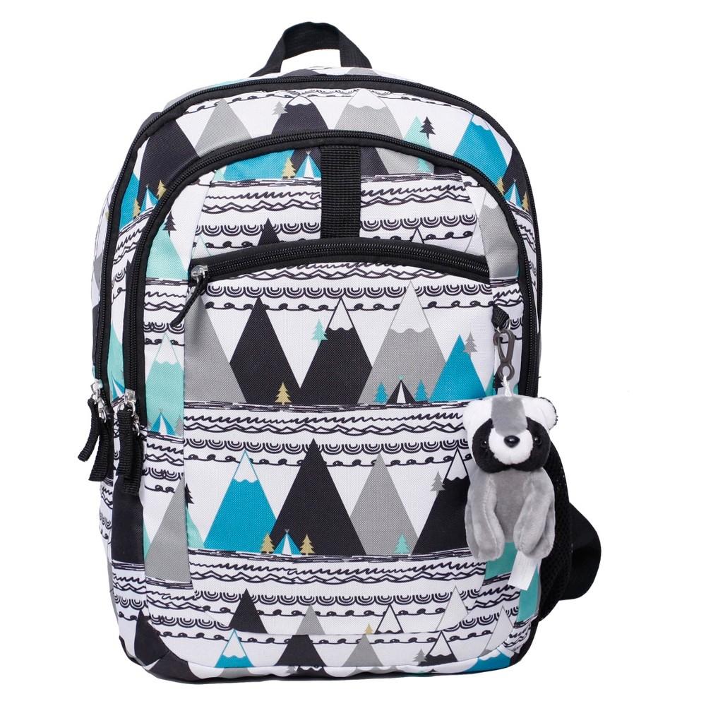Crckt Kids Backpack - Mountains, Blue