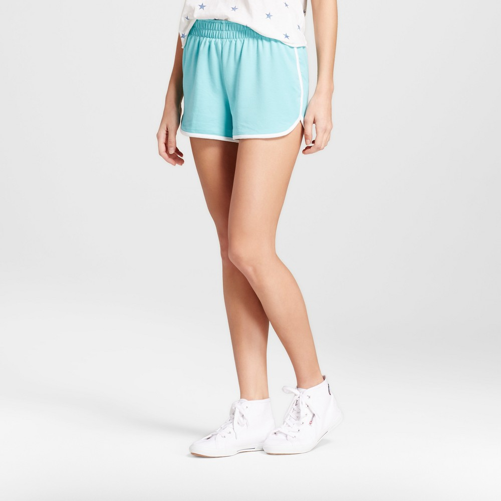 Womens Dolphin Hem Shorts - Mossimo Supply Co. Turquoise M