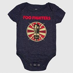 Foo Fighters Baby Boys' Stereo Sound Bodysuit - Green