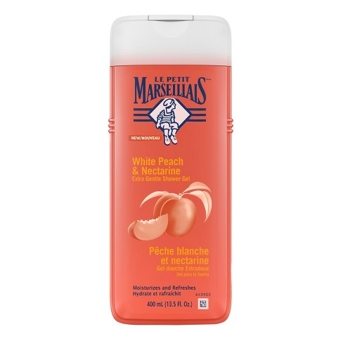 Le Petit Marseillais® Extra Gentle Shower Cream White Peach & Nectarine Body Wash - 13.5oz - image 1 of 3
