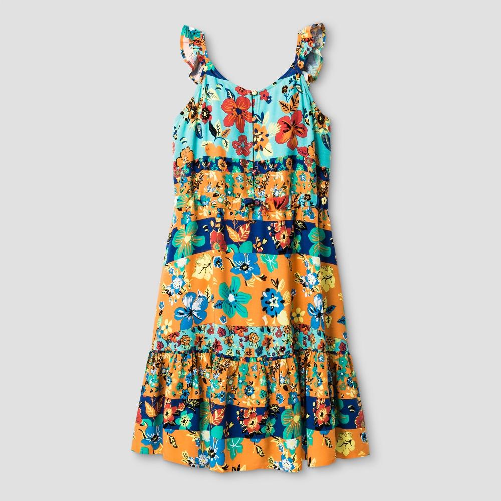 Girls A Line Dress - Art Class L, Multicolored