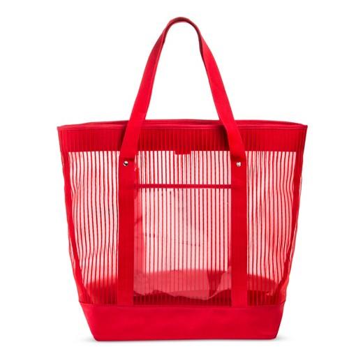 red beach bag : Target