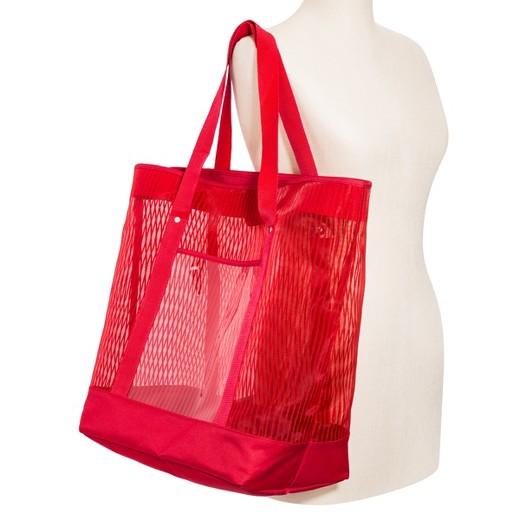 Women's Poptimism Mesh Beach Tote Bag : Target