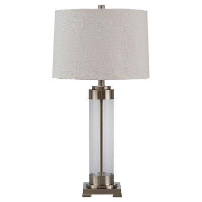 Talar Table Lamp Clear/Silver Finish - Signature Design by Ashley