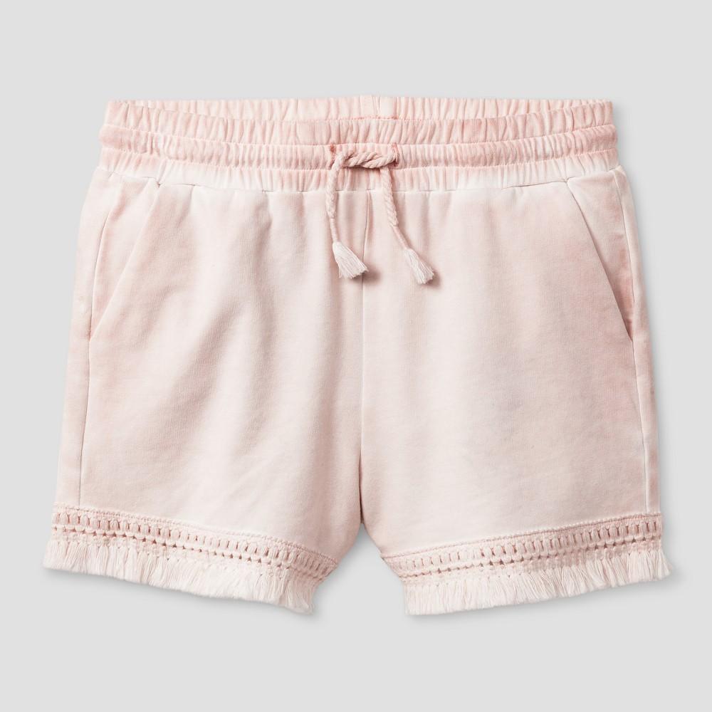 Girls Knit Shorts - Art Class Crystal Pink XS
