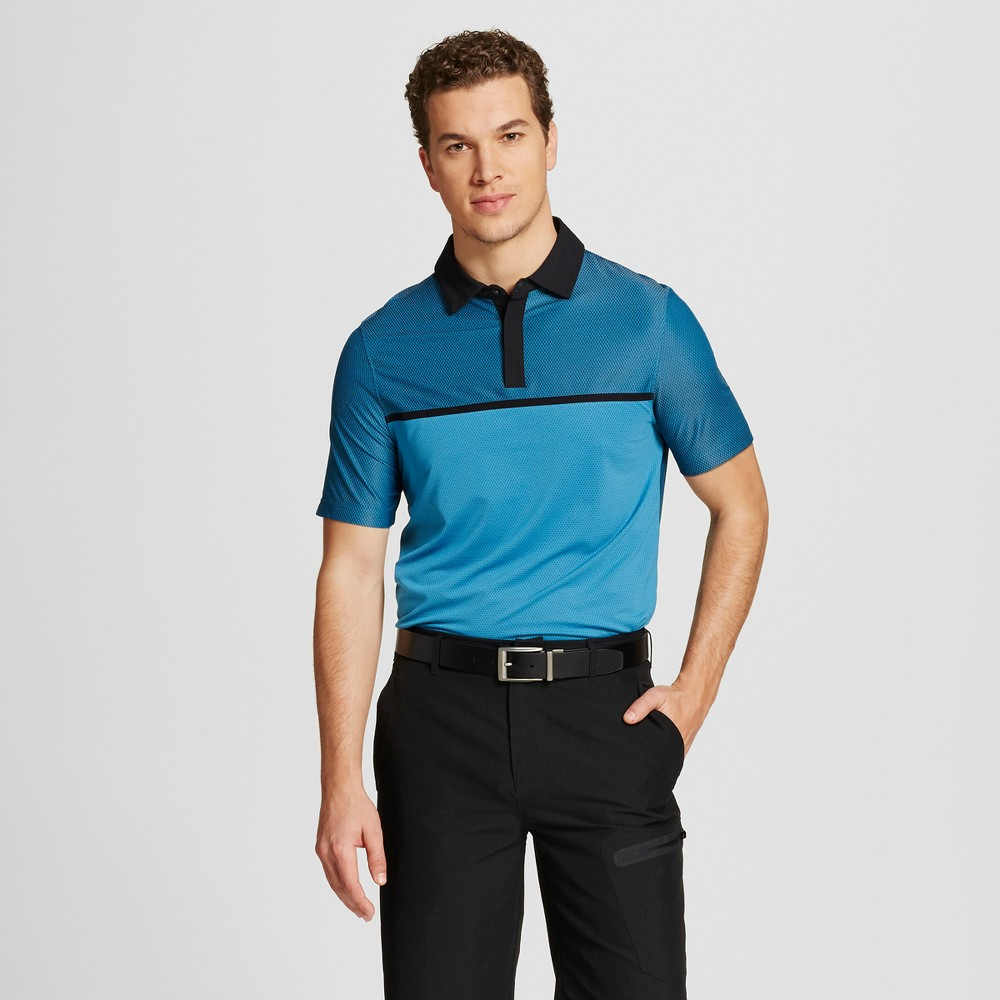 Mens Speed Knit Golf Polo - C9 Champion Hydro M