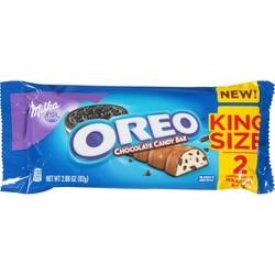 Milka Oreo King Size Chocolate Candy Bar - 2.88oz