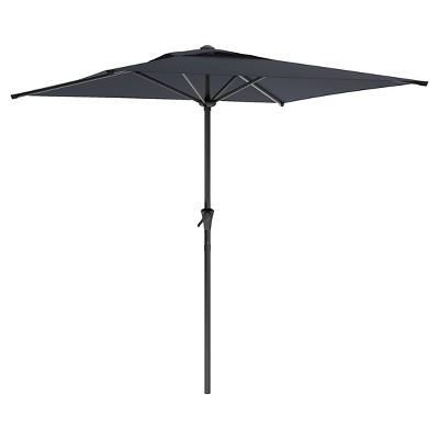 Marvelous 7.5u0027 Patio Umbrella Black   Corliving