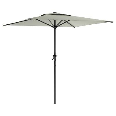 Charming 7.5u0027 Patio Umbrella Sand Gray   Corliving