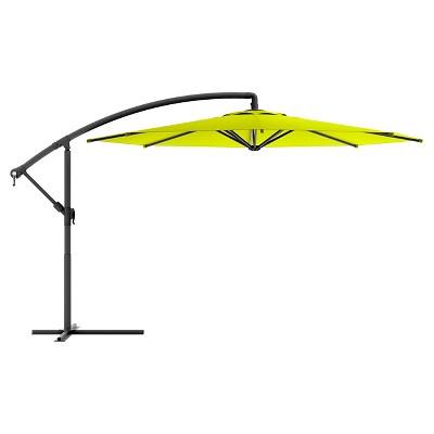 8.25u0027 Offset Patio Umbrella Lime Green ...