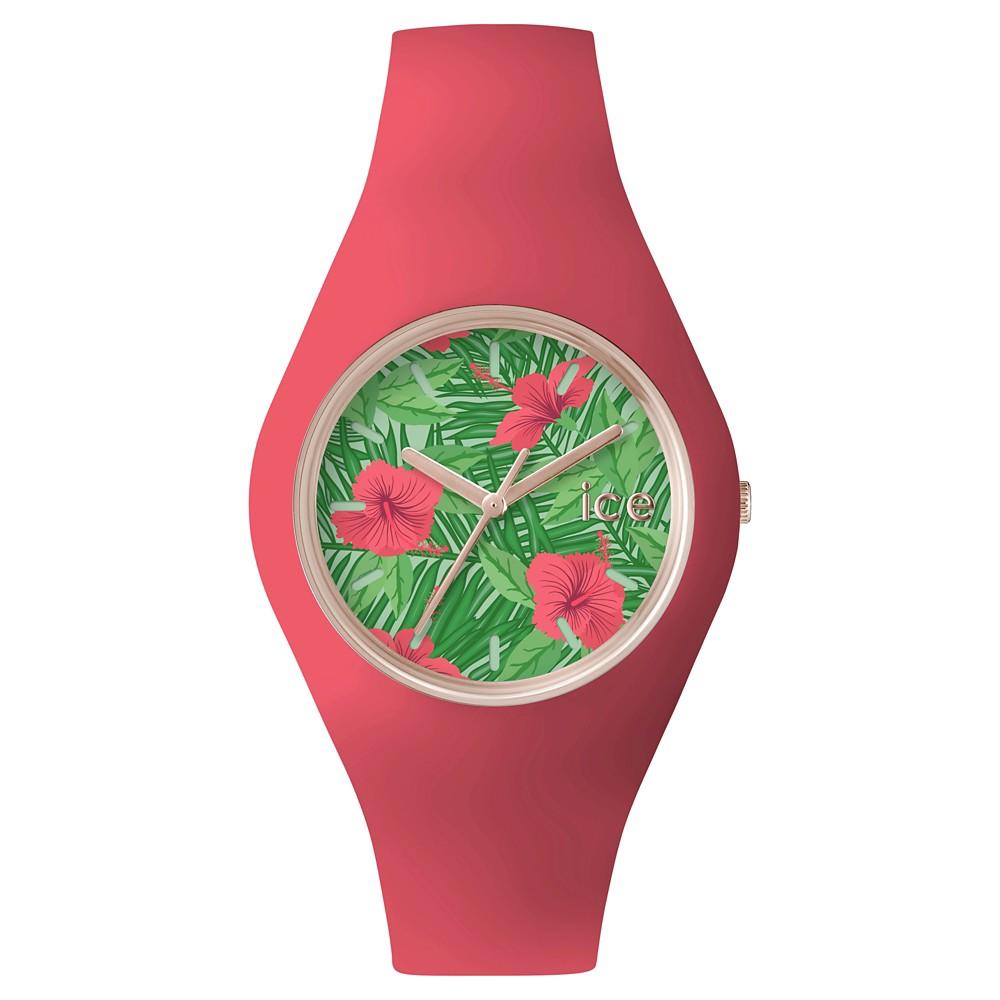 Womens Ice Watch Ice Flower Aloha Analog Watch - Light Red, Pink