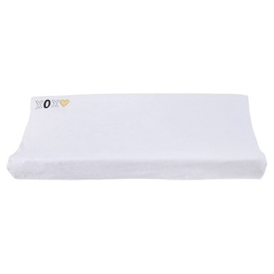 NoJo® Velboa Changing Pad Cover - XOXO