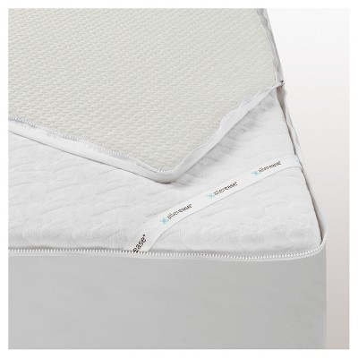 Platinum Mattress Protector (California King)White - Allerease®