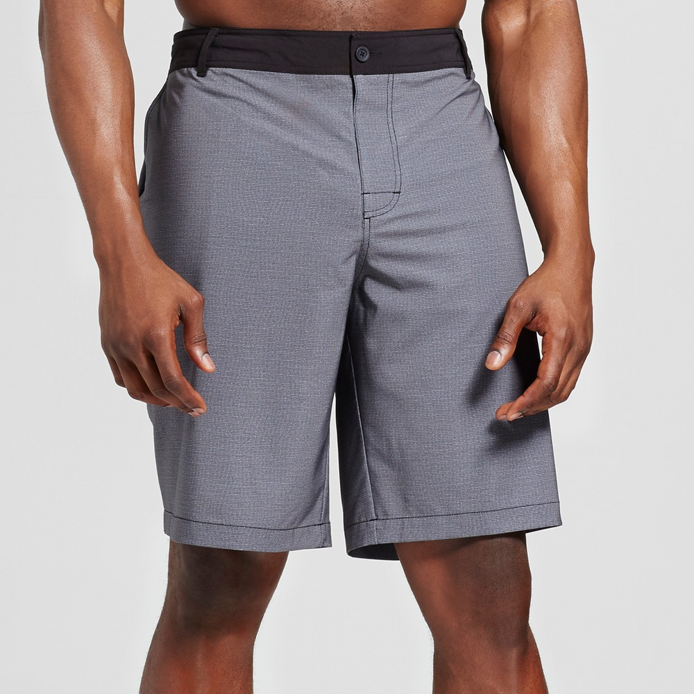 Mens Big & Textured Hybrid Shorts - Mossimo Supply Co. Gray 56