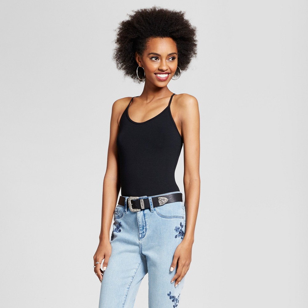 Womens Adult Bodysuit - Xhilaration - Black L