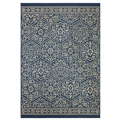 Nauset Patio Rug - Navy - Mohawk Home