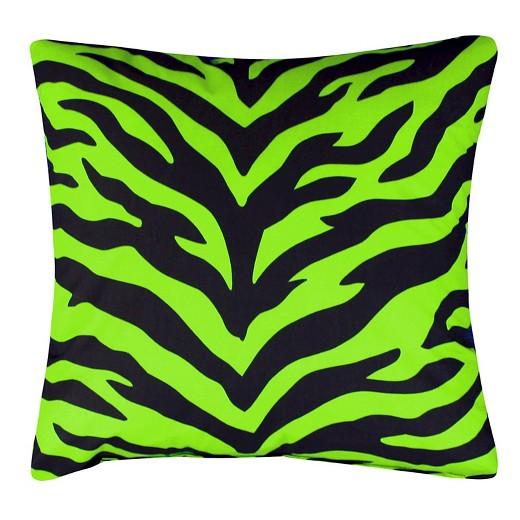 Zebra Throw Pillows Target : Lime Zebra Print Oblong Throw Pillow (20